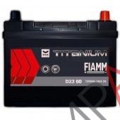 Аккумулятор  FIAMM  60Ач  580 A азия 232/173/227