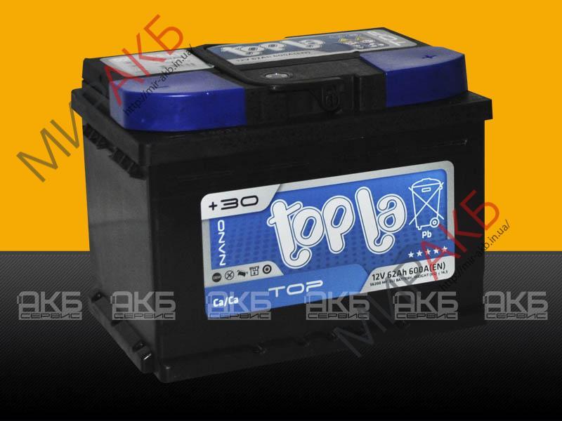 Аккумулятор  TOPLA 54Ач  510А  242/175/175