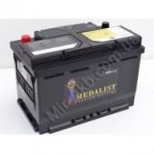 Аккумулятор  MEDALIST   80Ah   720A    277/175/190