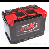 Аккумулятор POWER BOX  74Ah   720A  278/175/190