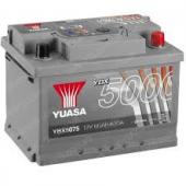 Аккумулятор  YUASA YBX5075  60Ah  620 A    242/175/190