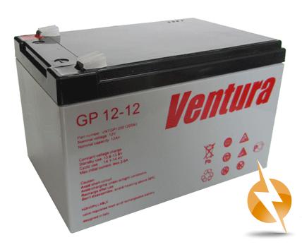Промышленные аккумуляторы- технологии AGM VENTURA GP 12-12