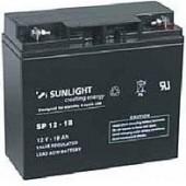 Aккумуляторы-технологии AGM SUNLIGHT SP12-18  12V 18A