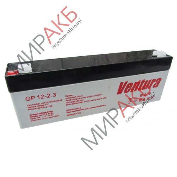 Промышленные аккумуляторы- технологии AGM VENTURA GP 12-2.3