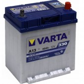 Аккумулятор VARTA 40Ач BLUE DYNAMIC А13 330 A азия 185/125/225