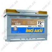 Аккумулятор  YIGITAKU 72Ач START-STOP EFB  680 A  278/175/190