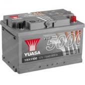 Аккумулятор YUASA 75Aч YBX5100 680 A низкий  278/175/175
