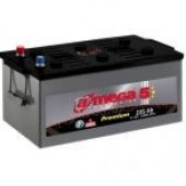 Аккумулятор  amega м5 премиум  6СТ- 225Ah   1250A  518/275/242