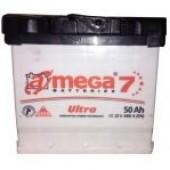 Аккумулятор  amega м7  6СТ- 50 Ah   480A  207/175/190