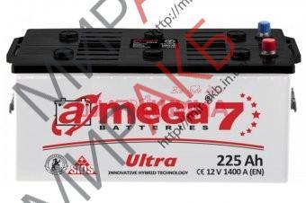Аккумулятор  amega ultra м7 6СТ- 225Ah   1400A  518/275/242