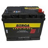 Аккумулятор BERGA 60Ач   540 A азия  232/175/225
