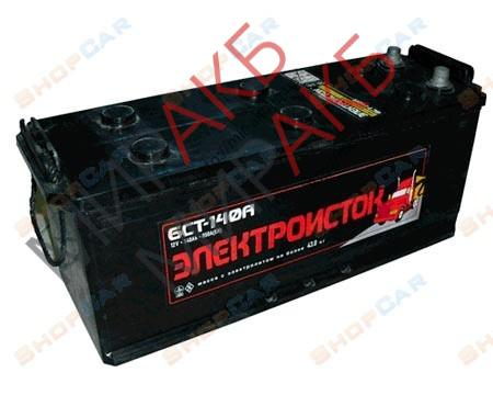 Аккумулятор ЭЛЕКТРОИСТОК 6СТ- 140Ач  850А   513/189/223