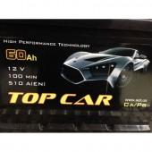 Аккумулятор  TOPCAR  60Ah   540A  242/175/190