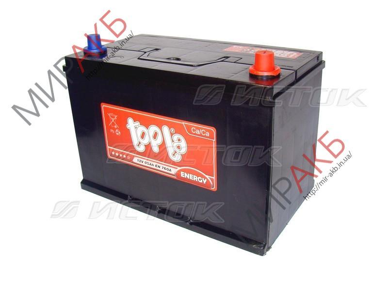 Аккумулятор TOPLA 95Ач азия  850А  353/175/232