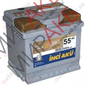 Аккумулятор  YIGITAKU 55Ач  START-STOP EFB 530 A 207/175/190