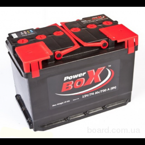 Аккумулятор POWER BOX 60Ah   540A  242/175/175