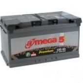 Аккумулятор  amega  м5 6СТ- 100Ah   950A  352/175/190