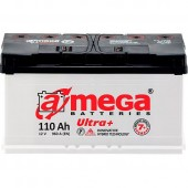 Аккумулятор Amega М7 ultra+ 110Ач   960 A  393/175/190