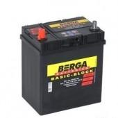 Аккумулятор BERGA 35Ач 300 A азия 185/125/225