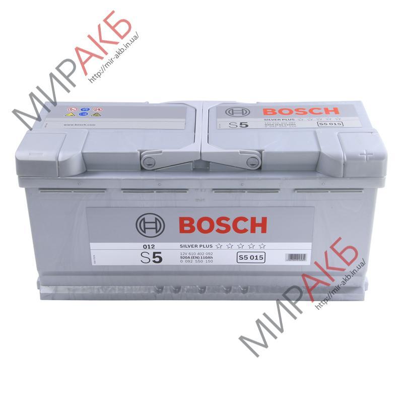 Аккумулятор BOSCH 105Ач S5 AGM  950 A  400/175/190
