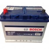 Аккумулятор BOSCH 70Ач 630А азия 262/175/226