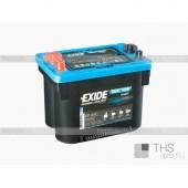 Аккумулятор   EXIDE DUAL AGM 50Ач  750 A  260/173/206