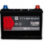 Аккумулятор FIAMM  75Ач  630 A азия 261/175/227