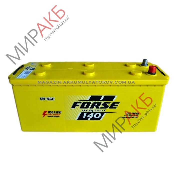 Аккумулятор  FORSE  140Ah   850A  513/189/223