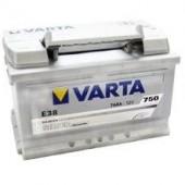 Аккумулятор  VARTA 77Ач  SILVER DYNAMIC Е44 780 A 278/175/190