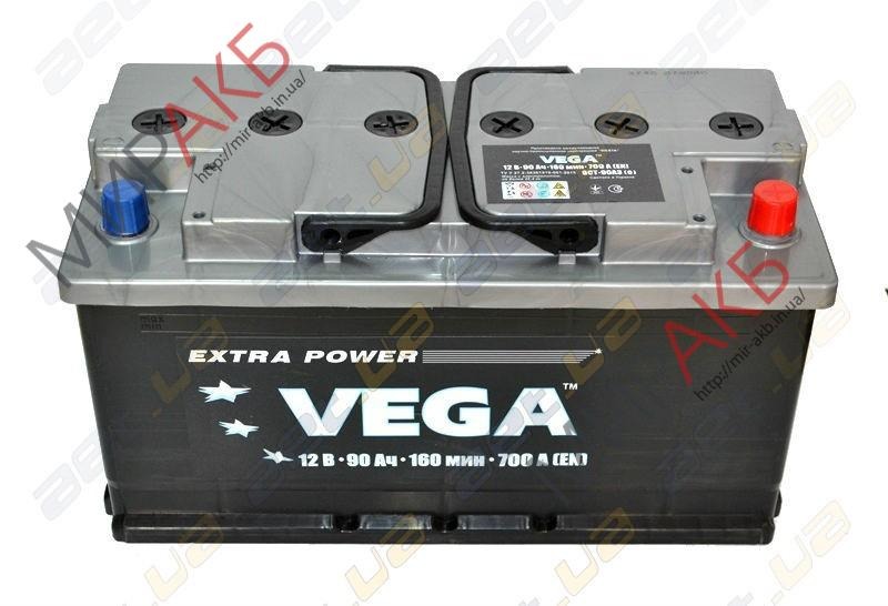 Аккумулятор Vega 6CT-90Ah 700A 353/175/190