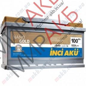 Аккумулятор  YIGITAKU 100Ач START-STOP EFB  920А  353/175/190