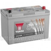 Аккумулятор YUASA YBX5335 95Ач азия  830А  353/175/232