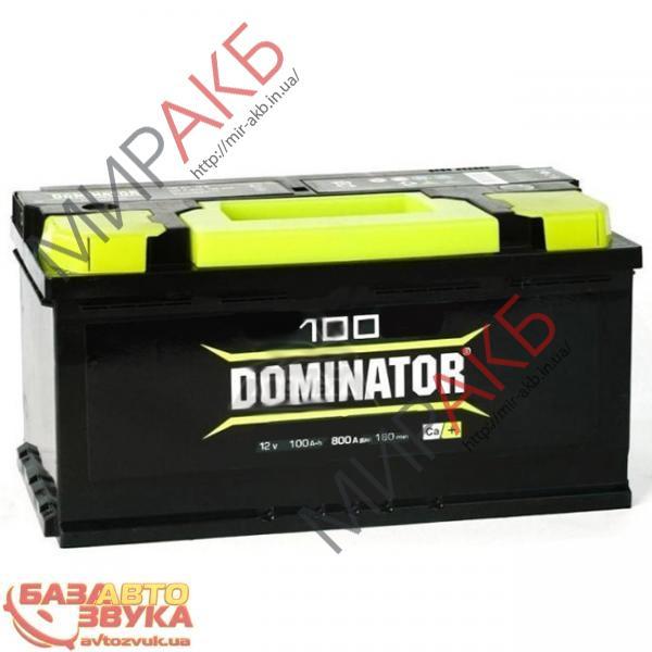 Аккумулятор DOMINATOR  6CT-100Ah 800A 330/175/190