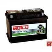 Аккумулятор  MUTLU 72Ач AGM START-STOP EFB  750А  278/175/190