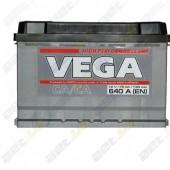 Аккумулятор Vega STANDART 6CT-75Ah 640a 276/175/190