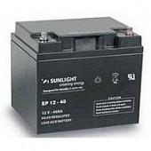 Aккумуляторы-технологии AGM SUNLIGHT SP12-40  12V 40A