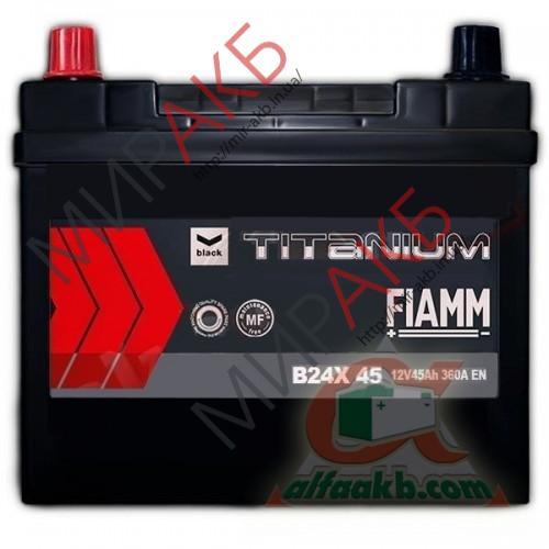 Аккумулятор   FIAMM 35 Ач  350 A азия 187/127/227