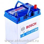 Аккумулятор   BOSCH 45Ач S4 SILVER 330 A азия 238/129/227