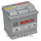 Аккумулятор BOSCH 54Ач S5 SILVER PLUS 530 A 207/175/190