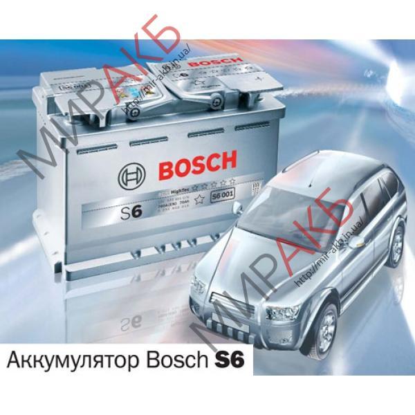 Аккумулятор BOSCH 60Ач S6 START-STOP AGM 680 A   242/175/190