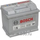 Аккумулятор BOSCH 63Ач S5 SILVER PLUS 610 A 242/175/190