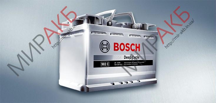 Аккумулятор BOSCH 70Ач S6 START-STOP AGM 800 A  315/175/190