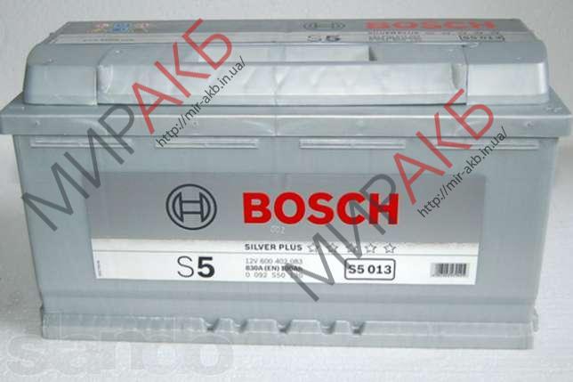 Аккумулятор BOSCH 85Ач S5 SILVER PLUS  800 A  315/175/175