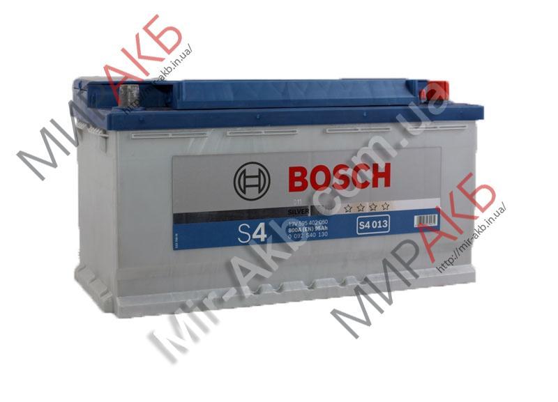 Аккумулятор BOSCH 95Ач S4 SILVER  800 A  353/175/190