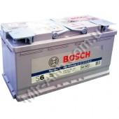 Аккумулятор BOSCH 95Ач S6 START-STOP AGM 850 A  353/175/190