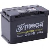 Аккумулятор  amega м5   6СТ- 74Ah   760A  276/175/190