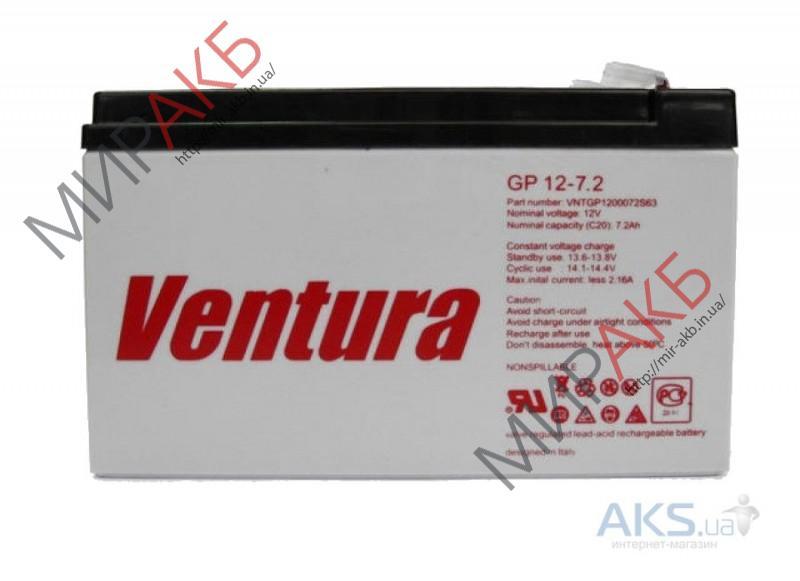 Промышленные аккумуляторы- технологии AGM VENTURA GP 12-7.2