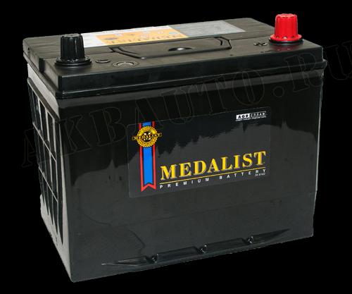 Аккумулятор  MEDALIST   65Ah  570 A  азия  220/173/225