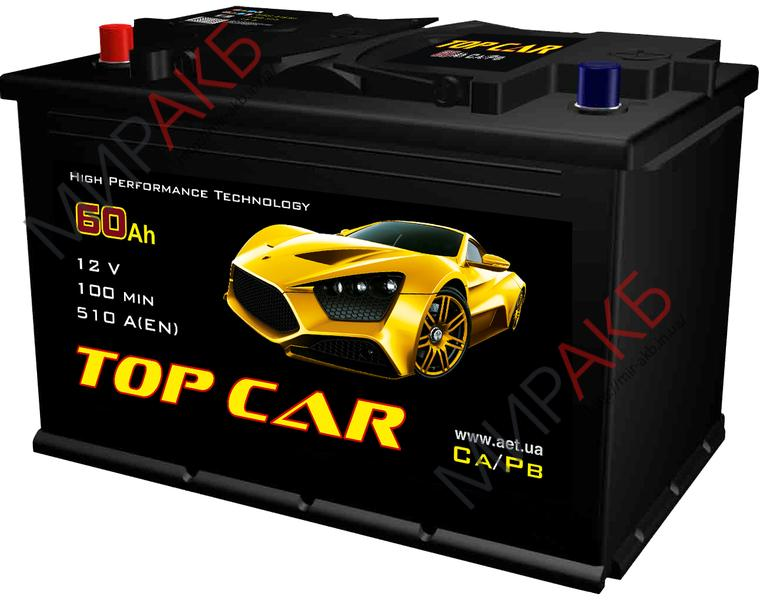 Аккумулятор  TOPCAR   75Ah   720A  278/175/190