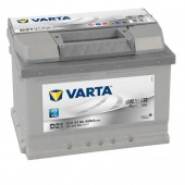 Аккумулятор VARTA 61Ач  SILVER DYNAMIC D21 600 A низкий  242/175/175